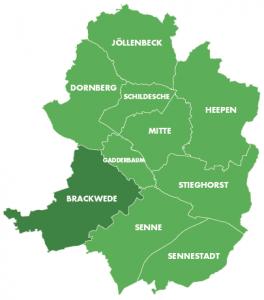 Bezirke-Brackwede