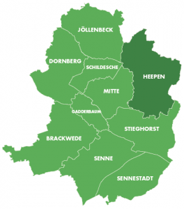 Bezirke-Heepen