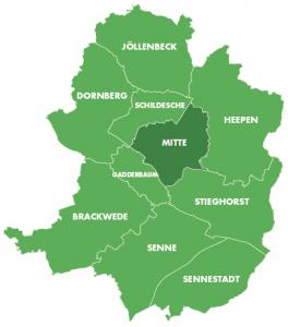 Bezirke-Mitte