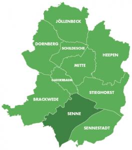 Bezirke-Senne