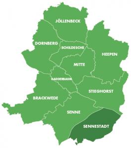 Bezirke-Sennestadt