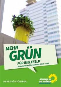 Mehr GRÜN für Bielefeld