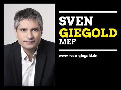 MEP Sven Giegold