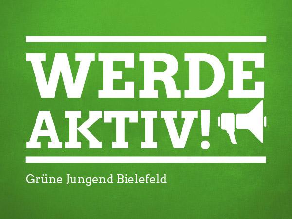 Grüne Jugend Bielefeld - Jetzt aktiv werden!