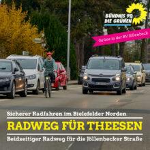 Radweg Theesen